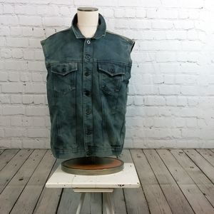 New Ring of fire denim Vest size xl